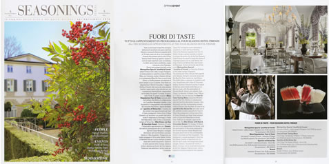 SEASONINGS FOUR SEASONS MAGAZINE