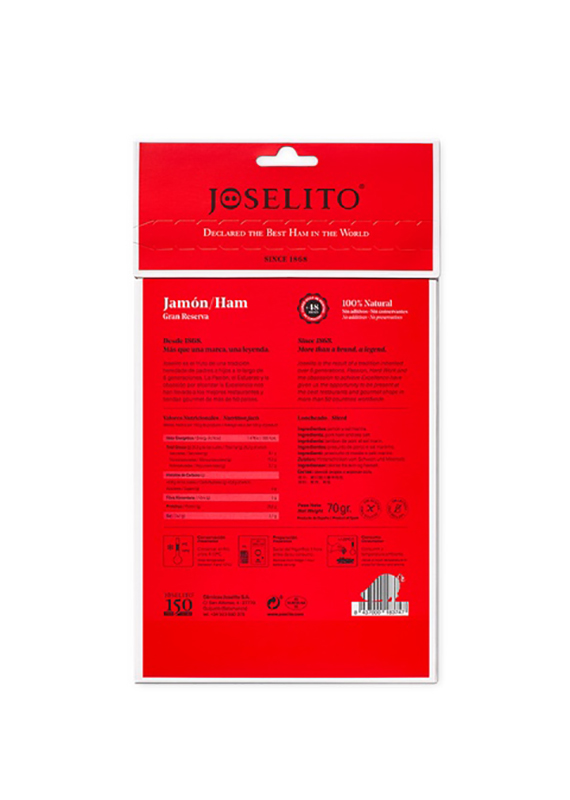 Joselito Great Reserve Ham Sliced 4