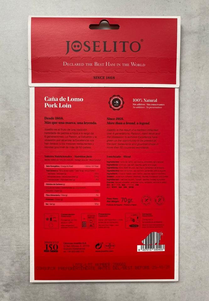 Lomo Joselito Slicing 3